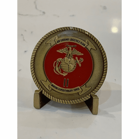 Air Ground Logistic Team Coin