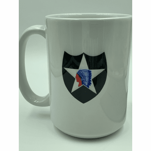 Army 2nd Infantry Division Mug