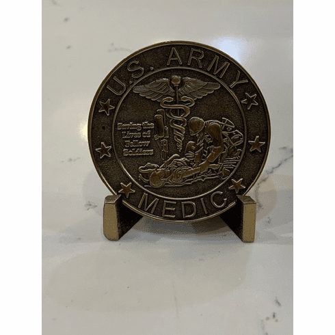 Army Medic Coin