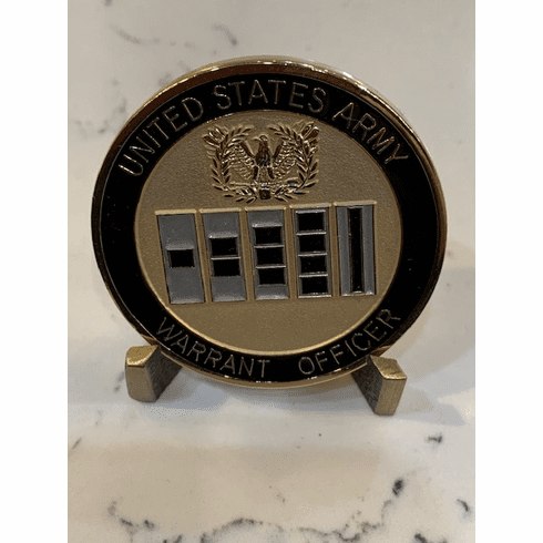 Army Warrant Officer Coin