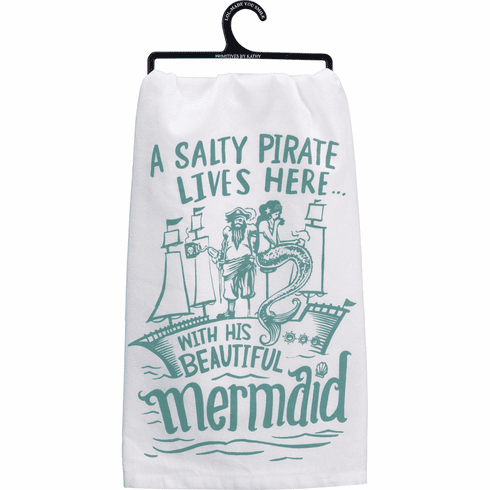 Beautiful Mermaid Kitchen Towel