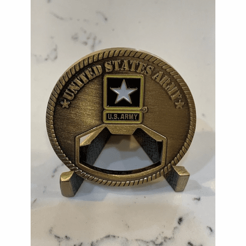 Bottle Opener Army Coin