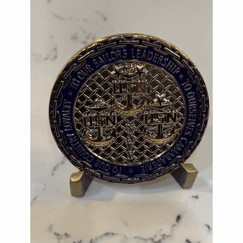 Chiefs Challenge Coin - To Our Sailors
