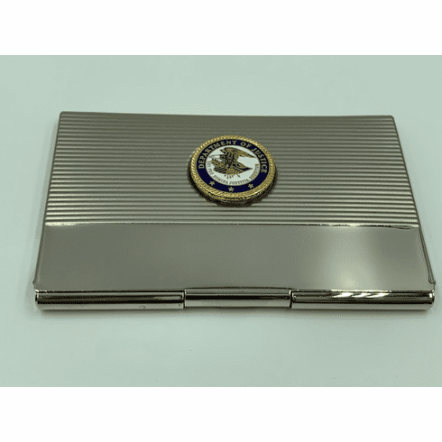 Department of Justice Card Case