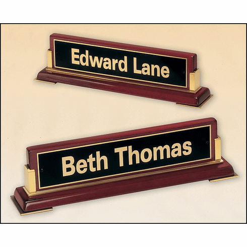 Desk Name Plate with Engraving