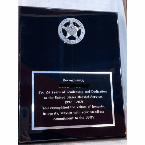 Engraved Plaque