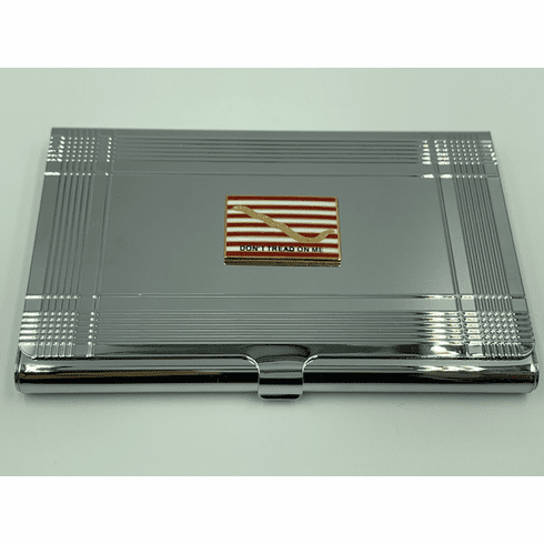 First Navy Jack Don't Tread On Me Card Case