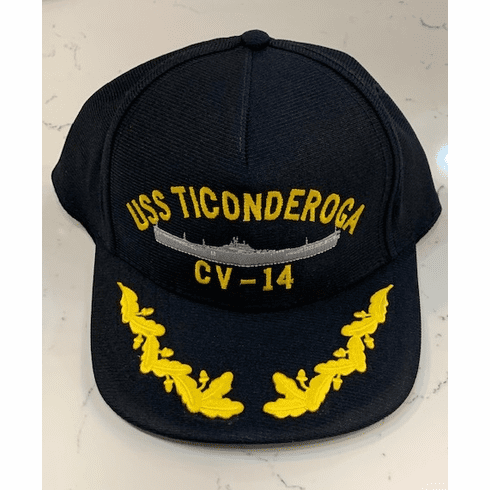 Get your ship Hat - For example: USS Ticonderoga