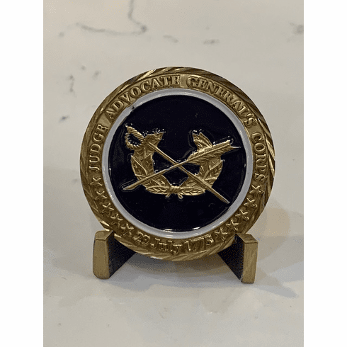 Judge Advocate General's Corps Coin
