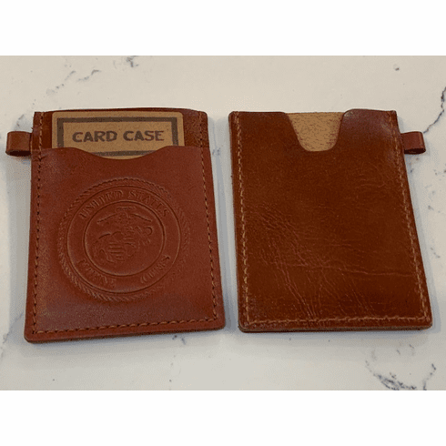 LEATHER CARD CASES Brown