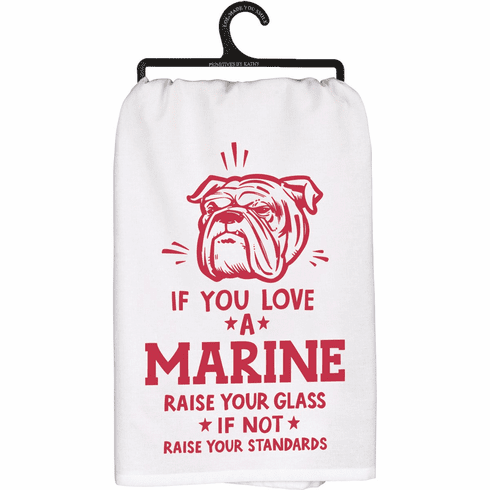 Love a Marine Kitchen Towel