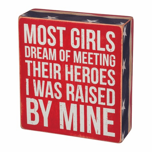 Meeting Their Heroes Box Sign