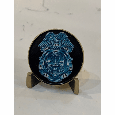 Military Police Coin - Engravable