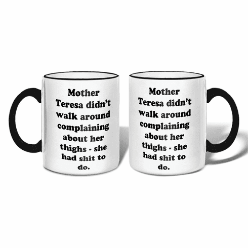 Mother Teresa Mug with Gift Box