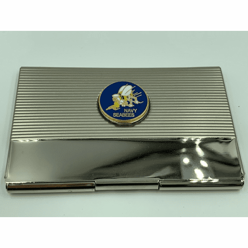 Navy Seabees Card Case