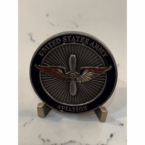 US Army Aviation Coin