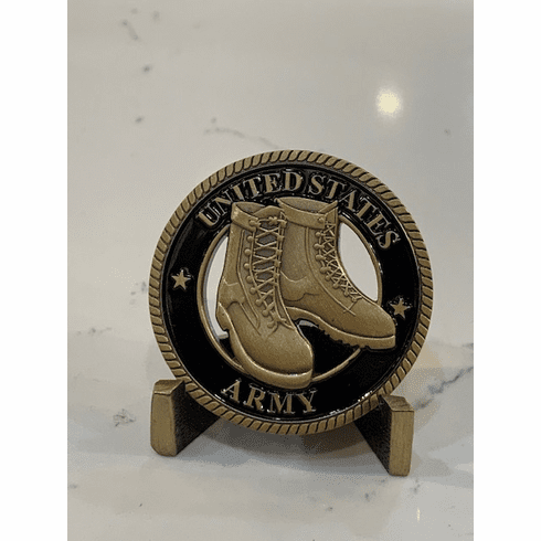 US Army Boots Coin