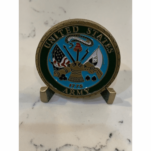 US Army Proudly Served Coin