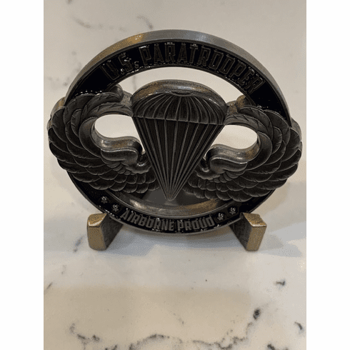 US Paratrooper Coin