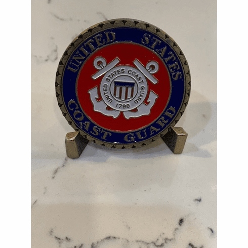USCG Proudly Served Coin