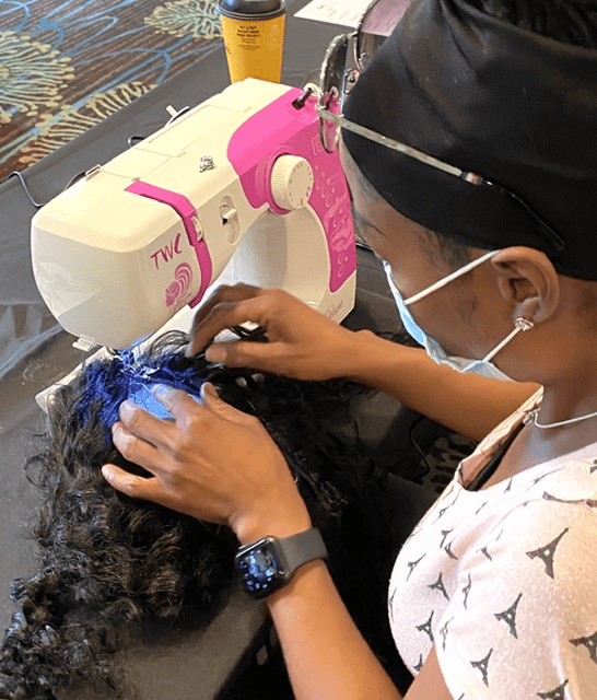 Enclosed Wig or U-Part Wig Making Class - CLICK TO BUY