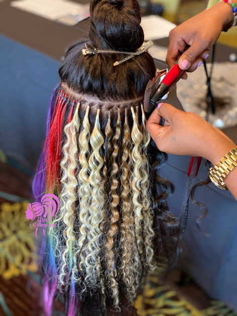 Hair Extension & Microlinks Class - CLICK TO BUY