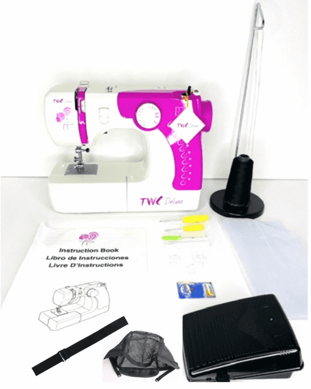 Pink Weave College Sewing Machine