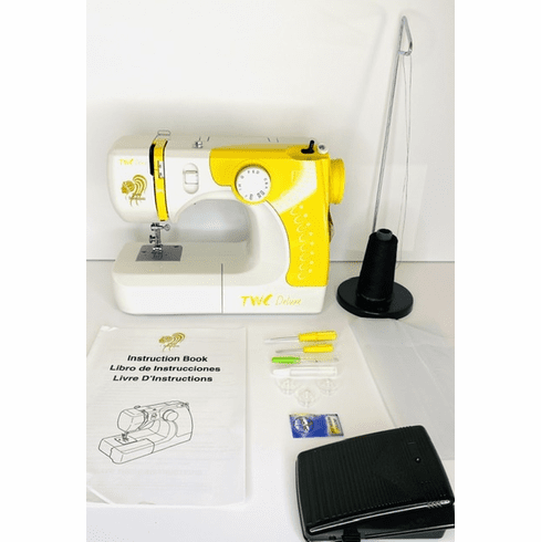 Yellow TWC Deluxe Sewing Machine IN-STOCK