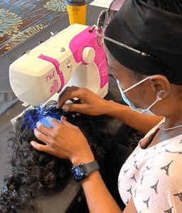 ZOOM ONLINE Enclosed Wig Making Online Class