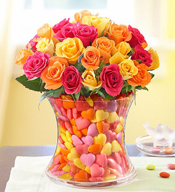 ROSES CANDY COLORS