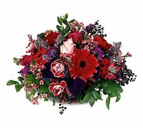 The FTD® Crimson Rapture™ Bouquet
