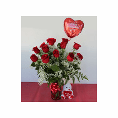 valetines ROSES Bouquet with roses