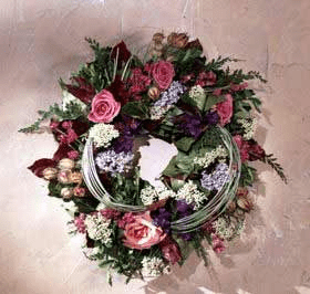 Victorian Dried Flower Wreath