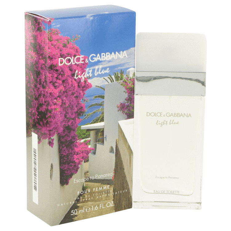 Light Blue Escape To Panarea by Dolce & Gabbana Eau De Toilette Spray