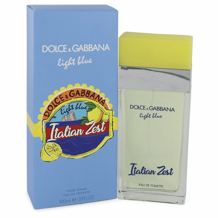 Light Blue Italian Zest by Dolce & Gabbana Eau De Toilette Spray