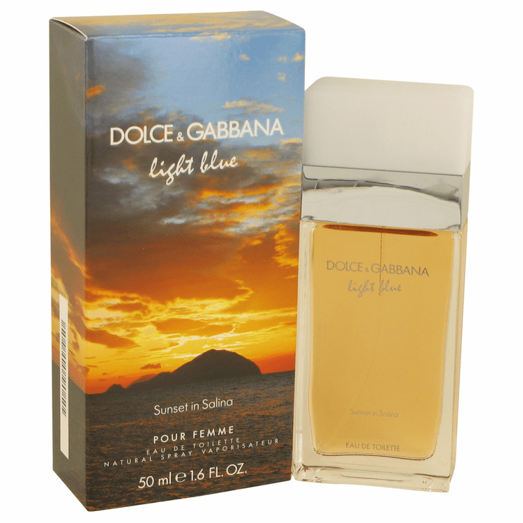 Light Blue Sunset In Salina by Dolce & Gabbana Eau De Toilette Spray