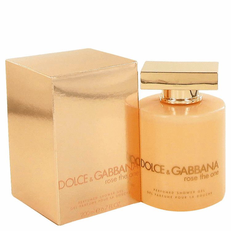 Rose The One by Dolce & Gabbana Shower Gel for Women 6.7 Oz