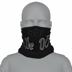 BLACK REP THE DO NECK GAITER