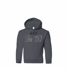 """GREY HOODIE WITH """"REP THE DO"""" SLOGAN"""