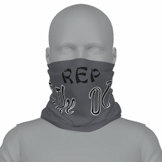 Grey Rep The Do neck gaiter