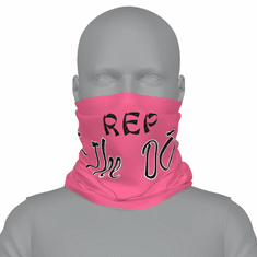 "PINK ""REP THE DO"" NECK GAITER"