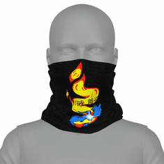SELF MASTERY SYMBOL NECK GAITER