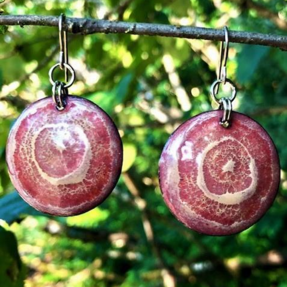 ENAMELED COPPER JEWELRY