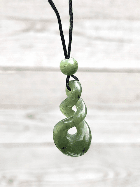 JADE TRIPLE TWIST NECKLACE