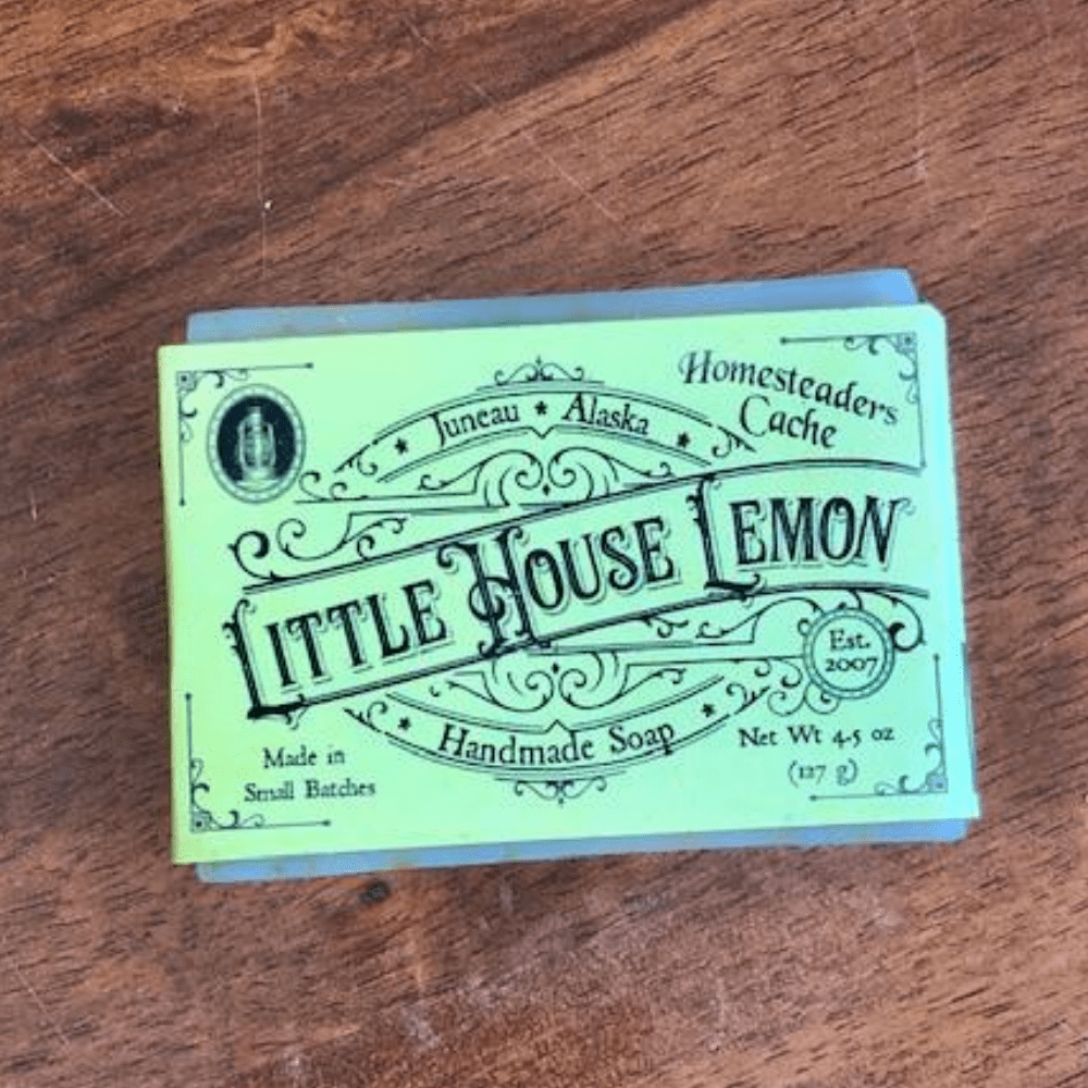 LITTLE HOUSE LEMON SOAP BAR