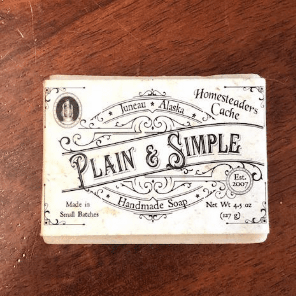 PLAIN AND SIMPLE SOAP BAR