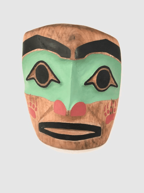 WARRIOR MASK BY RAY PECK