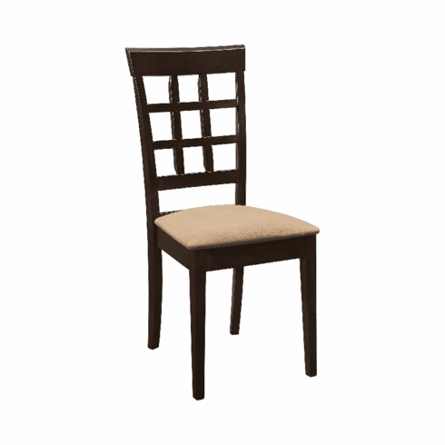 100772 Dining Chairs (includes 2 chairs)