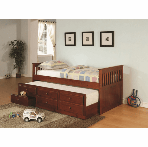 300105 Daybed with Trundle and Storage by Coaster