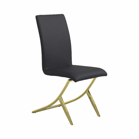 Chantar Black Dining Chairs (includes 4 chairs)